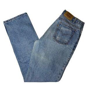 Vintage Orange tab Levis 619 Mens Jeans 33x34 80s
